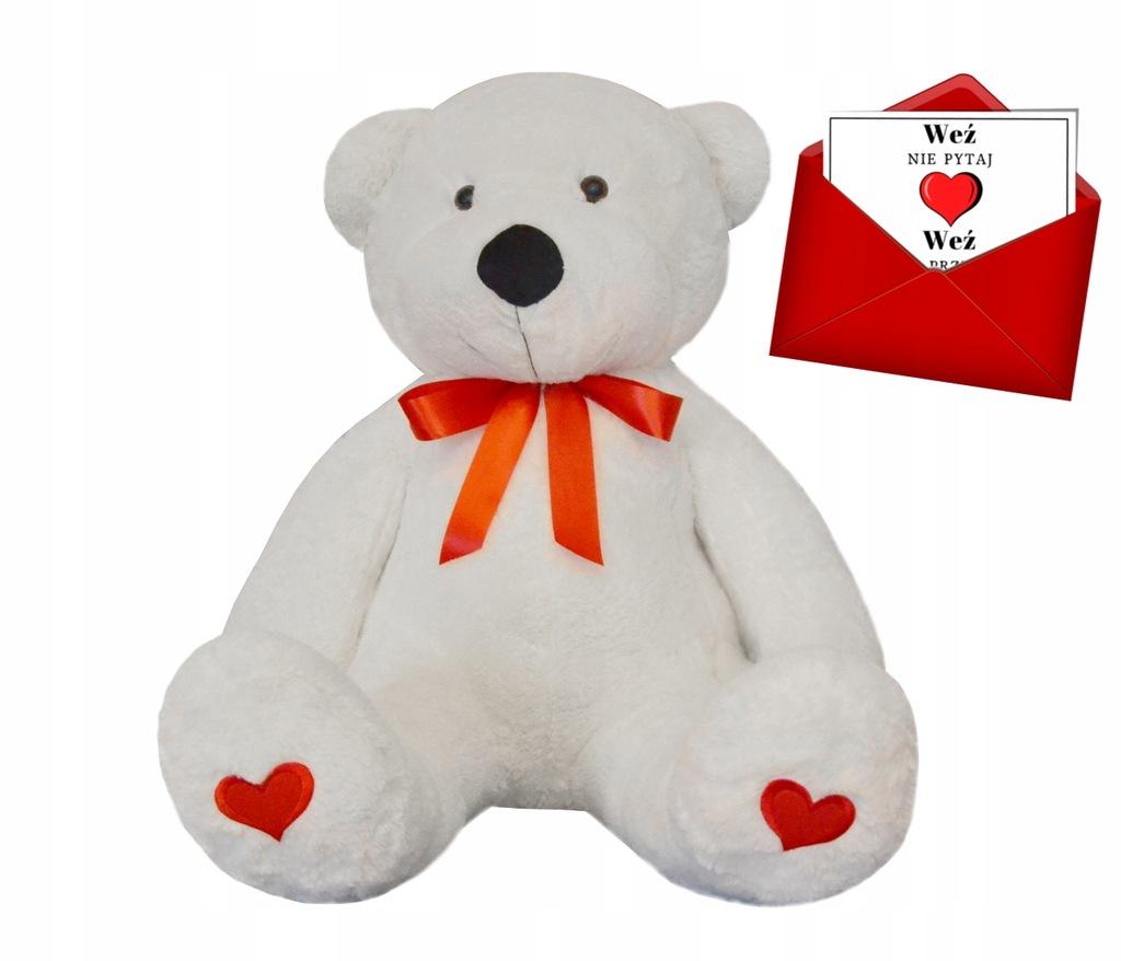 Duzy Mis Na Walentynki Gratis Kartka 7819834232 Oficjalne Archiwum Allegro