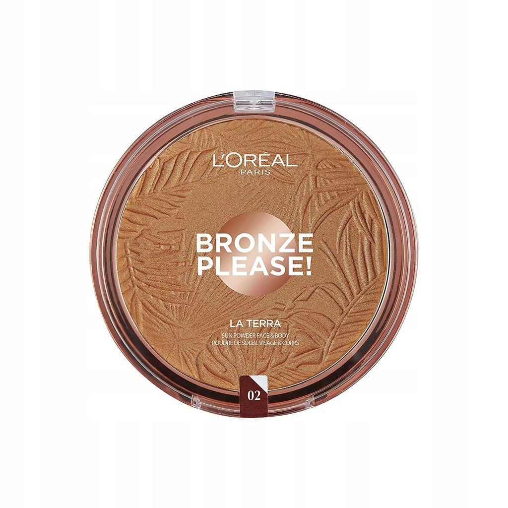 LOREAL bronzer Please La Terra 02 Capri Naturale