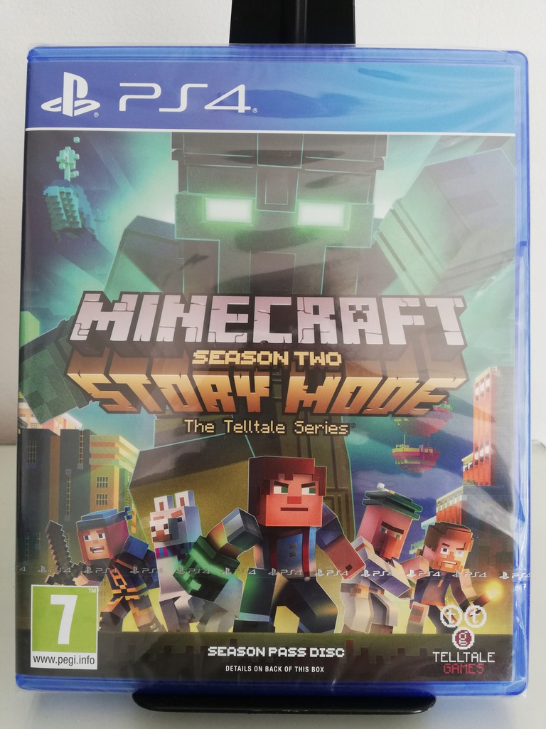 Minecraft Story Mode Season 2 Ps4 Nowa Folia 8284516142