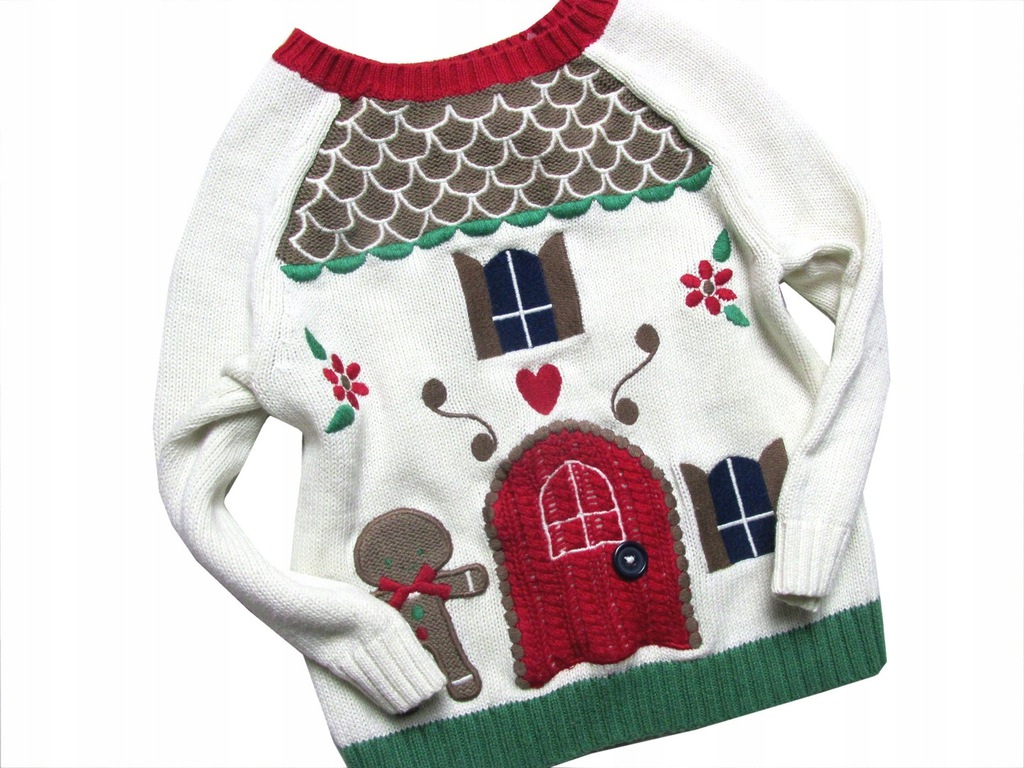 tu sliczny sweterek domek_____74/80