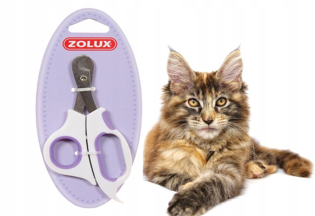 Nożyczki do obcinania pazurów dla kota duże Zolux