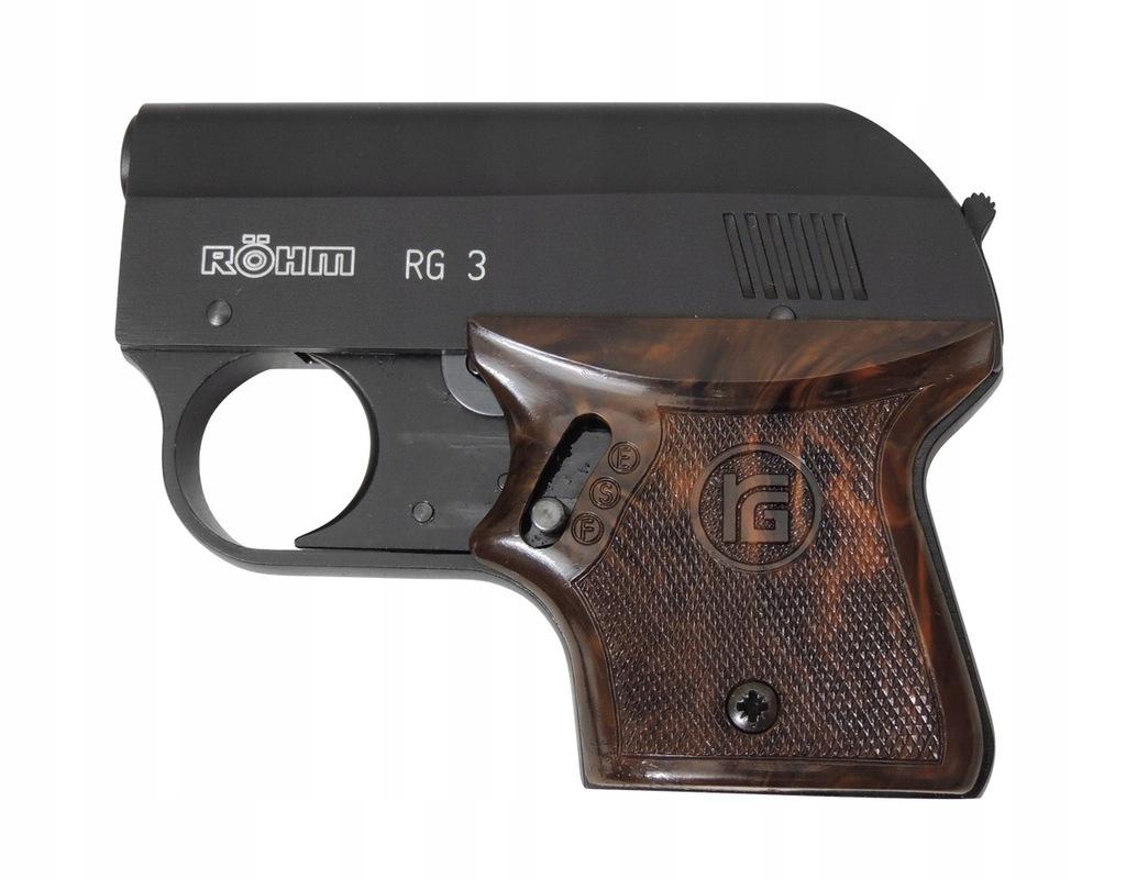 Pistolet hukowy straszak Rohm RG-3 6 short +GRATIS