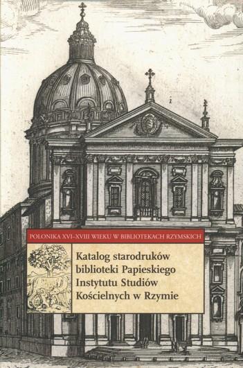 Katalog poloników starodruki PISK w Rzymie