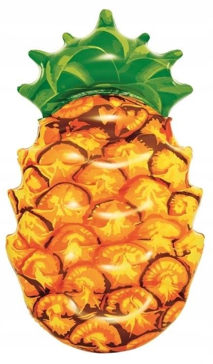 Materac Wypoczynkowy Ananas do Pływania 174x96 Bes