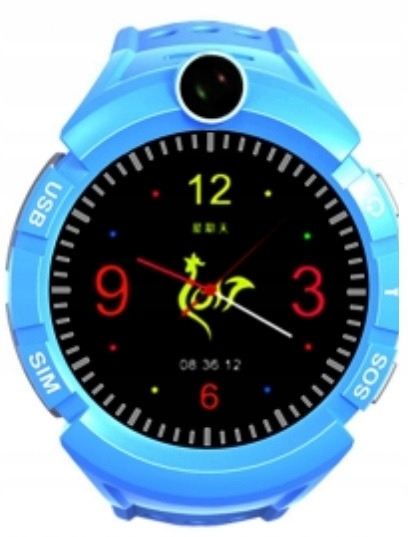 OUTLET Niebieski Smartwatch ART SGPS-03B GPS Wifi
