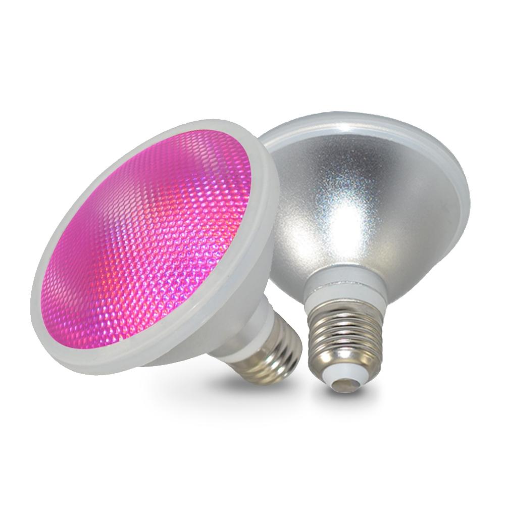 2x ŻARÓWKA LED GROW LIGHT DO UPRAWY ROŚLIN 80W E27