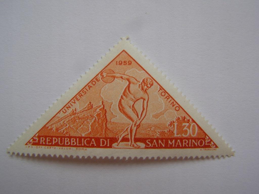 San Marino - Uniwersjada Torino 1959 - Mi. 626 **