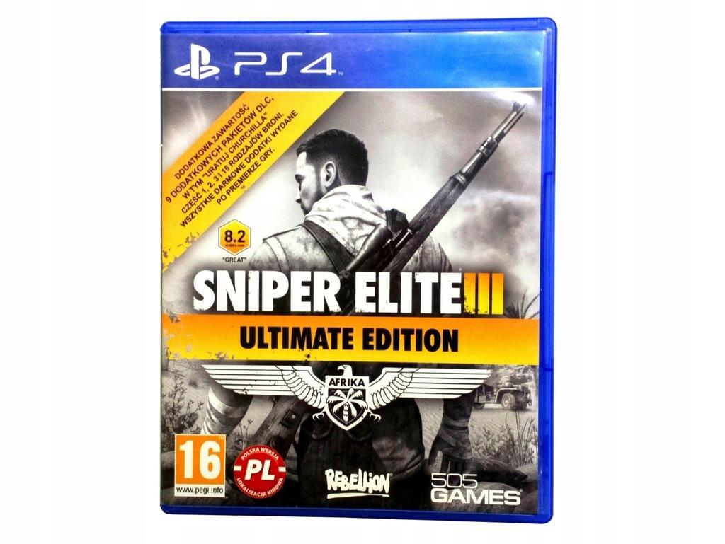 Sniper Elite 3 Ultimate Edition Gra Ps3 Ceneo Pl