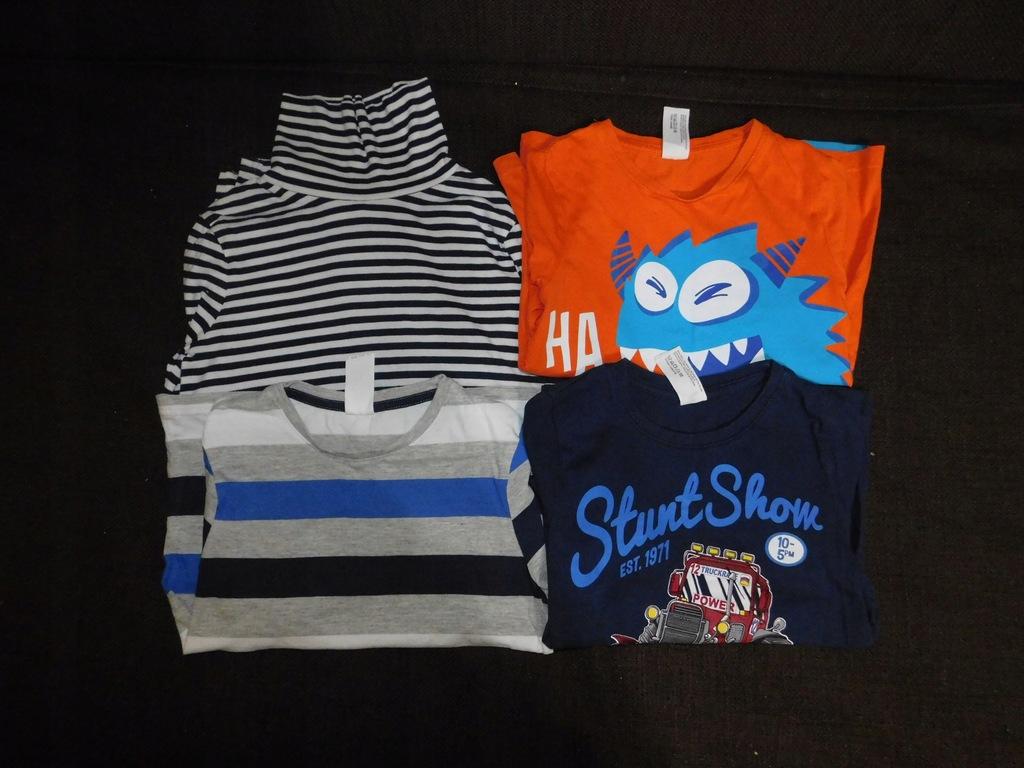 # Zestaw 5 koszulek długi rękaw 128 Palomino #