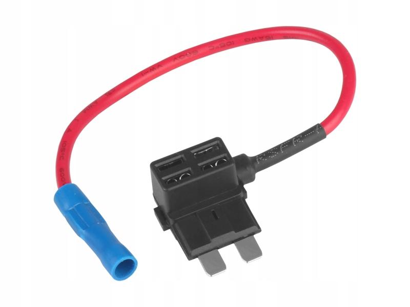 Adapter bezpiecznikowy UNI x 2 /BYPASS/