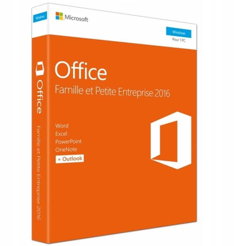 Microsoft Office 2016 Home & Business EU BOX
