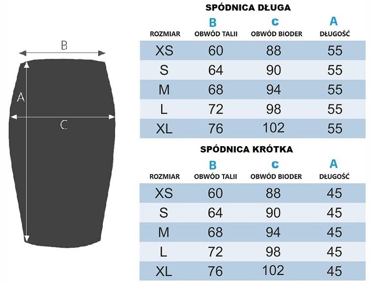 DROBNE KROPECZKI Spódnica Full Print 7676759332