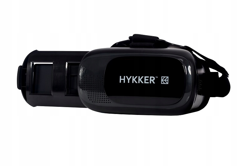 Gogle do smartfonów Hykker VR Glasses 3D czarne