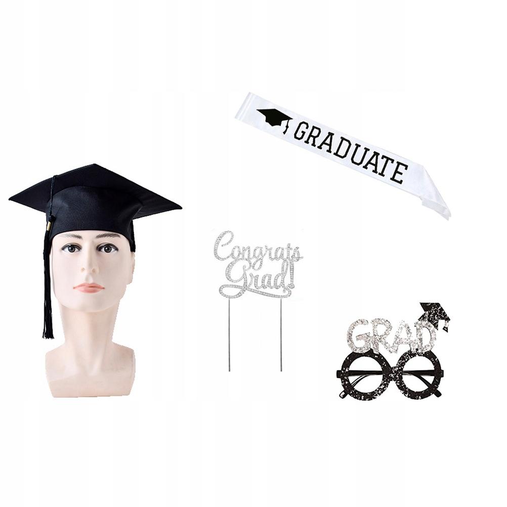 4 sztuk Party Doctoral Hat Graduation Party Śmiesz
