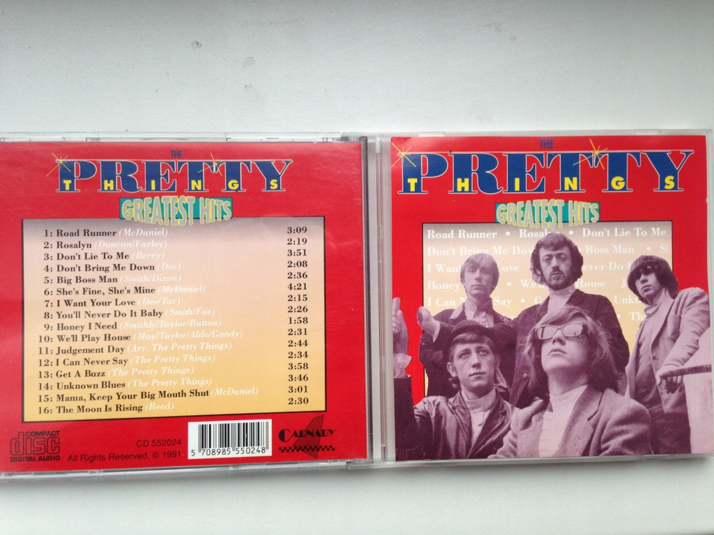 THE PRETTY THINGS - Greatest Hits - 1991/ IDEAL