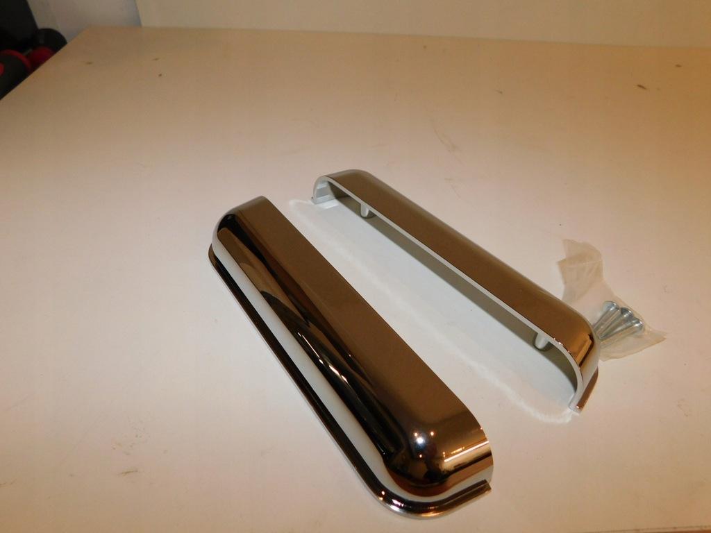 Uchwyty do szafek kuchennych efekt chrom 193mm A/Y
