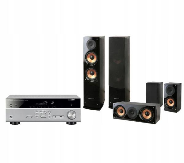 Zestaw kina domowego Yamaha MusicCast RX-V485 5.1