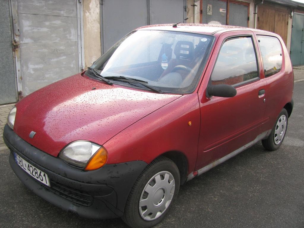 samochód osobowy Fiat Seicento 900 1999 r.