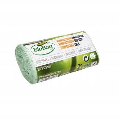 Worki na odpady organiczne 6L rolka 30 szt BioBag