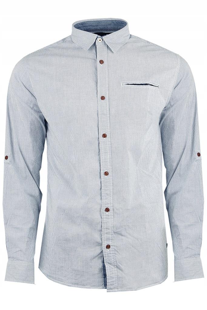 JACK&JONES koszula Slim z zapinanym rękawem L