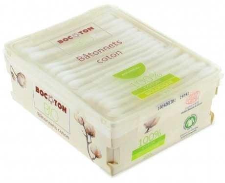 Bocoton Patyczki Kosmetyczne Bawełniane Bio 200Szt