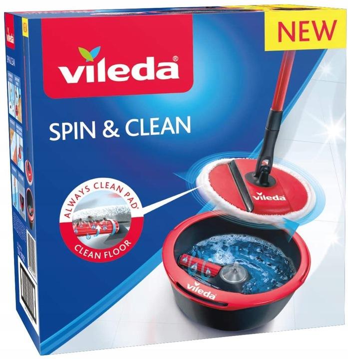 M274 Vileda 161821 Spin & Clean mop obrotowy