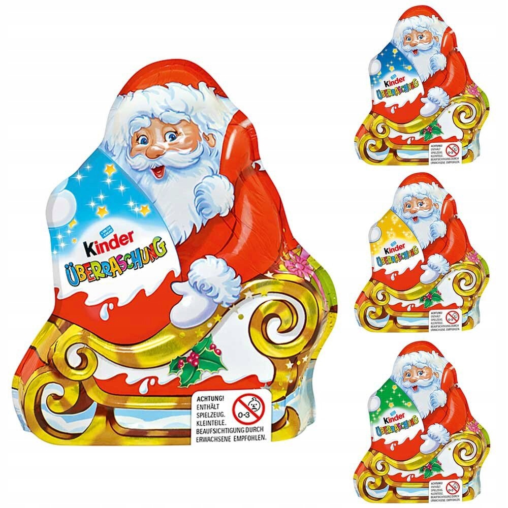 Ferrero Kinder Jajko i Mikołaj Święta Mikołajki 75
