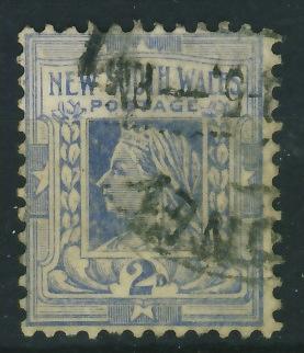 Kolonie ang. New South Wales 2 d. - Królowa
