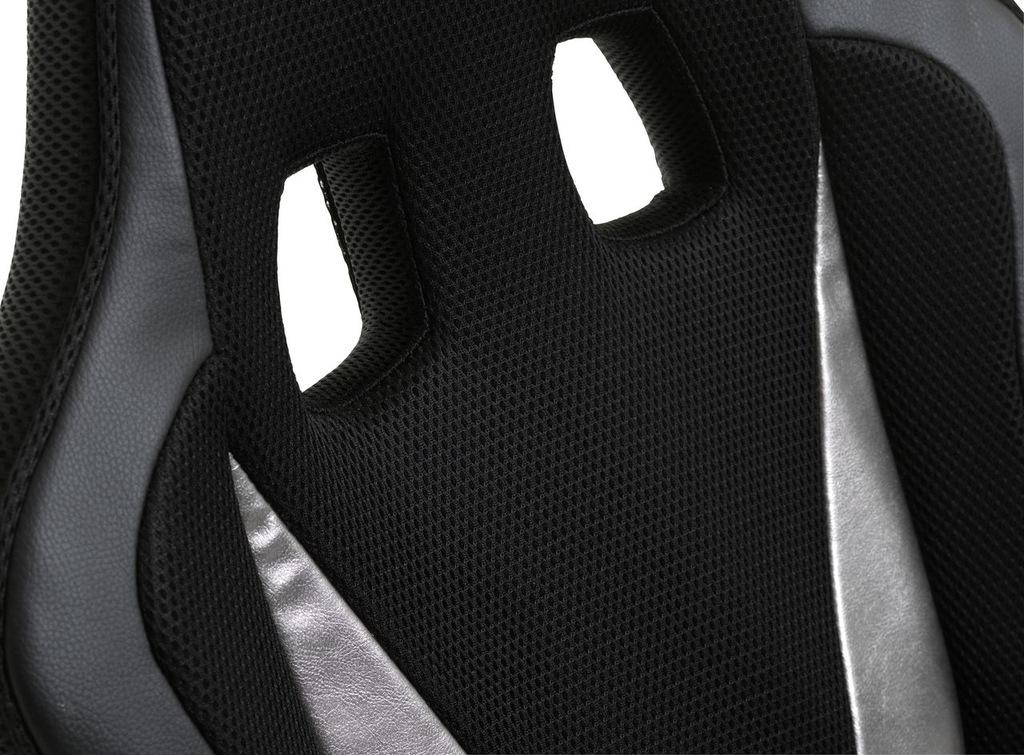 Krzesło dla gracza HARLEV Jysk czarny 8097640070