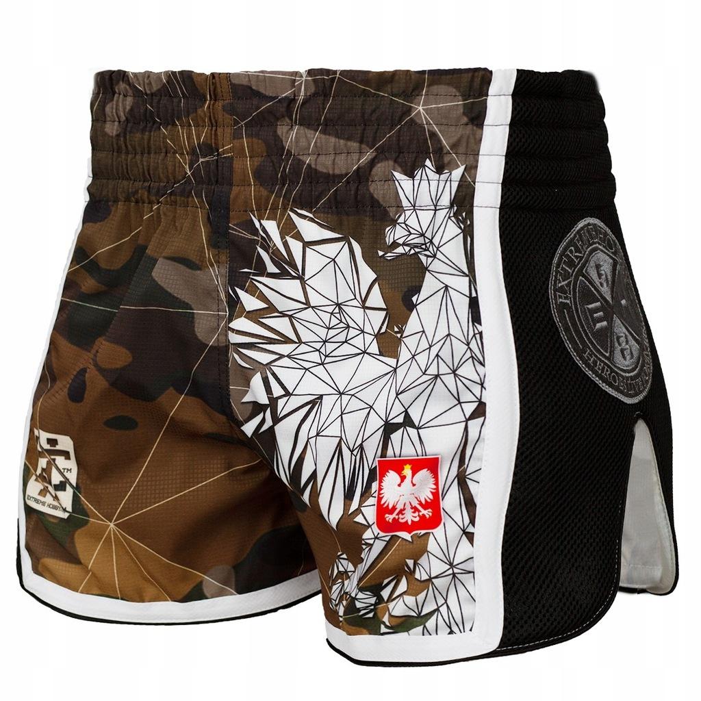 Spodenki EXTREME Hobby MMA K1 Muay Thai POLSKA L