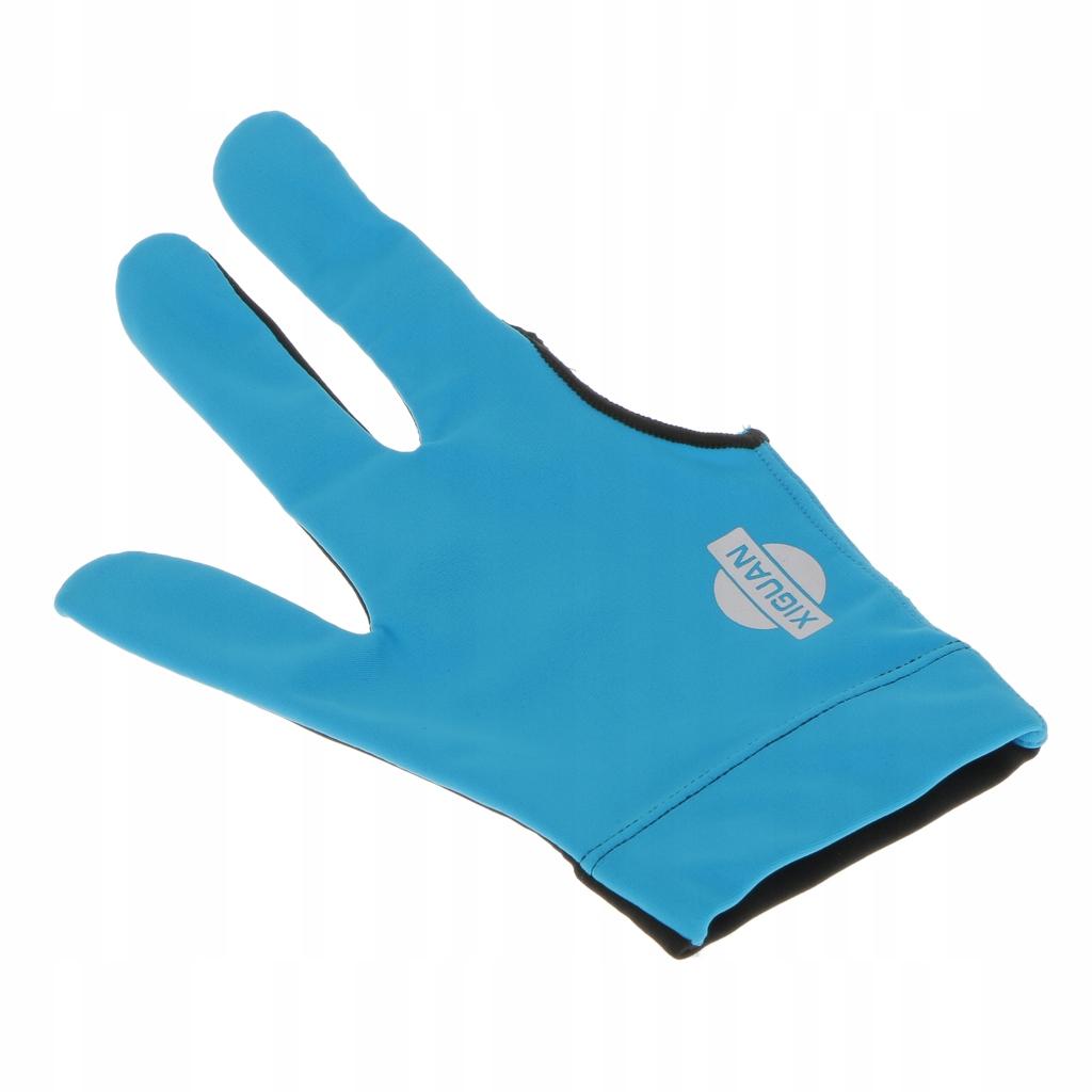 1 sztuka rękawicy do snookera - niebieski