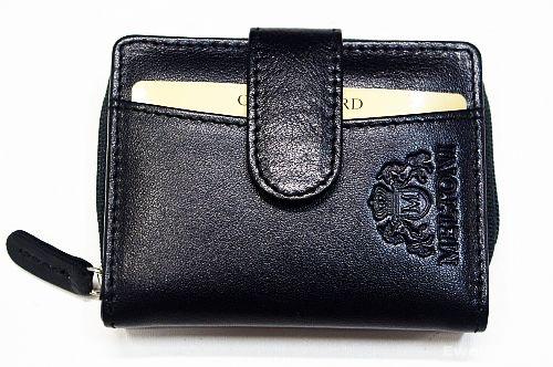 Skórzany męski mały portfel MELTONI