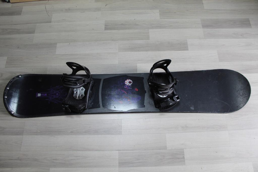 Deska Snowboard NITRO ATLAS 164 W cm + Wiązania SP