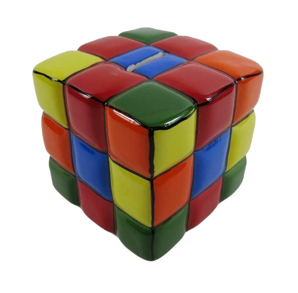 Ceramika Skarbonka Kostka Rubika Szescian Prezent 8548944033 Oficjalne Archiwum Allegro