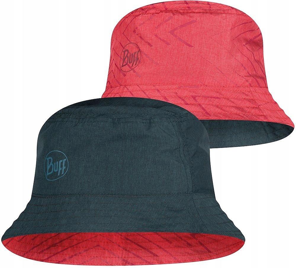 kapelusz Buff Collage - 117204/Red/Black