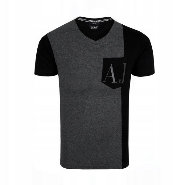ARMANI JEANS t-shirt męski E23 r.XXL
