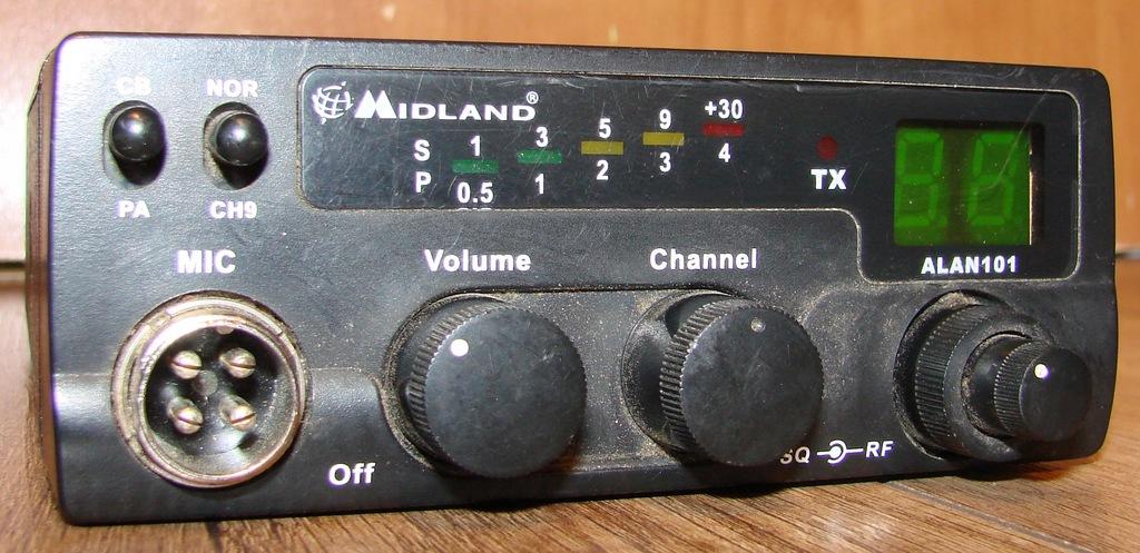 CB RADIO MIDLAND ALAN 101