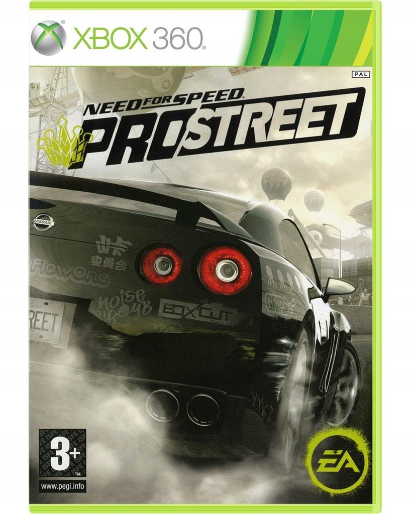 Gra Need For Speed Prostreet Xbox 360 Nowa W Folii 8616396956 Oficjalne Archiwum Allegro