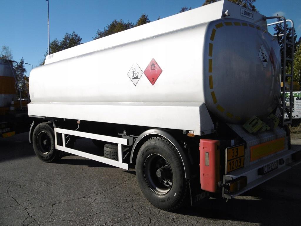 Stokota AAN20-2 do paliw płynnych 3 komory ON/PB