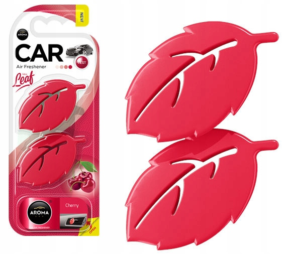 Odświeżacz powietrza AROMA CAR LEAF 3D - CHERRY