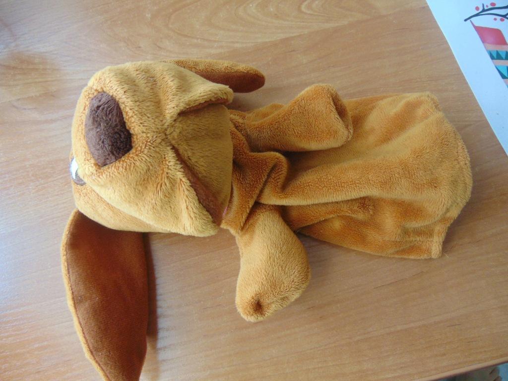 Maskotka pacynka pies