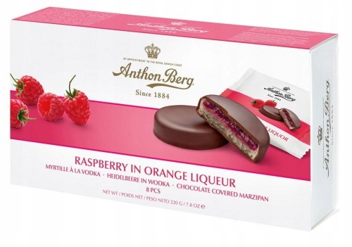 Anthon Berg Raspberry in Orange Liqueur Czekoladki
