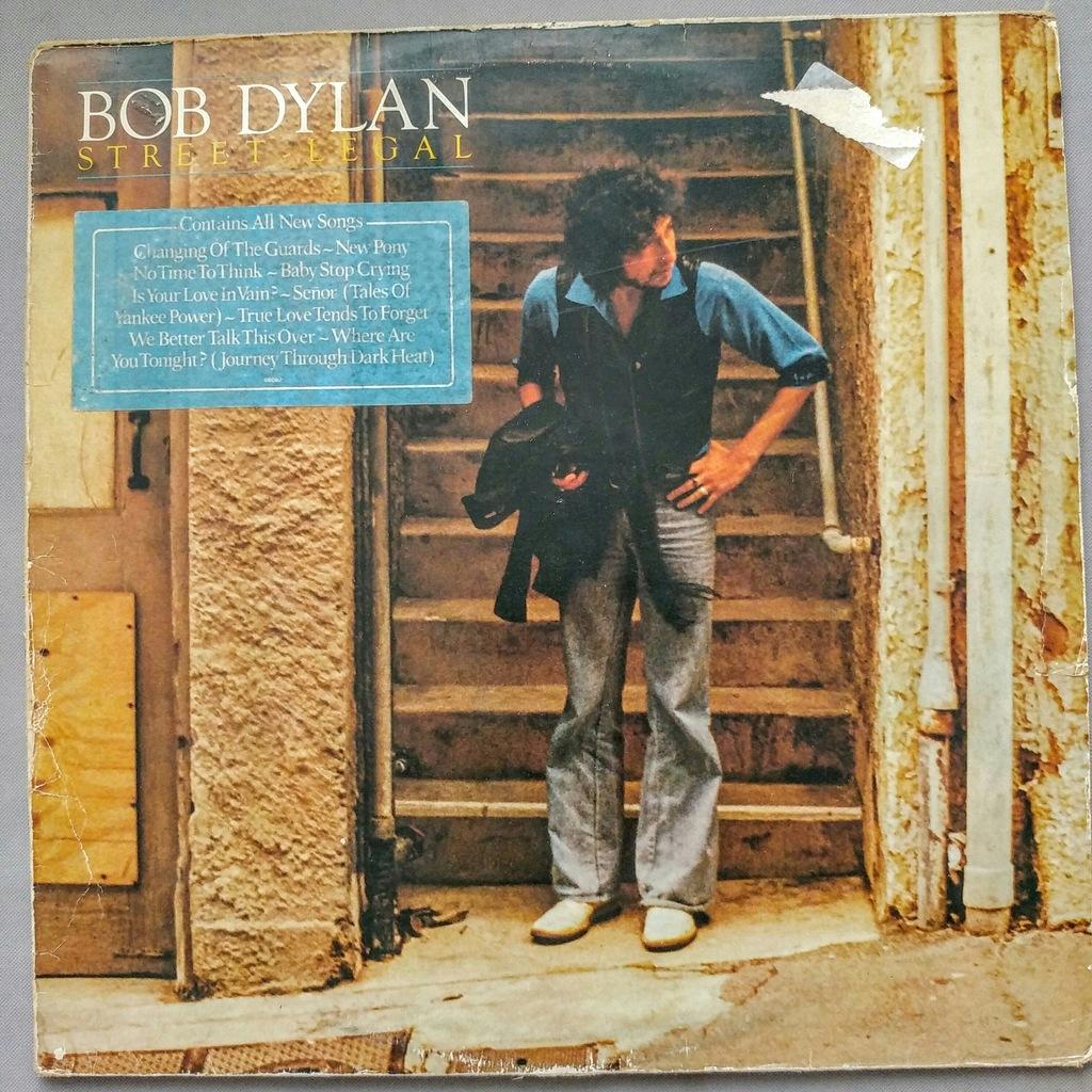 Bob Dylan Street Legal winyl