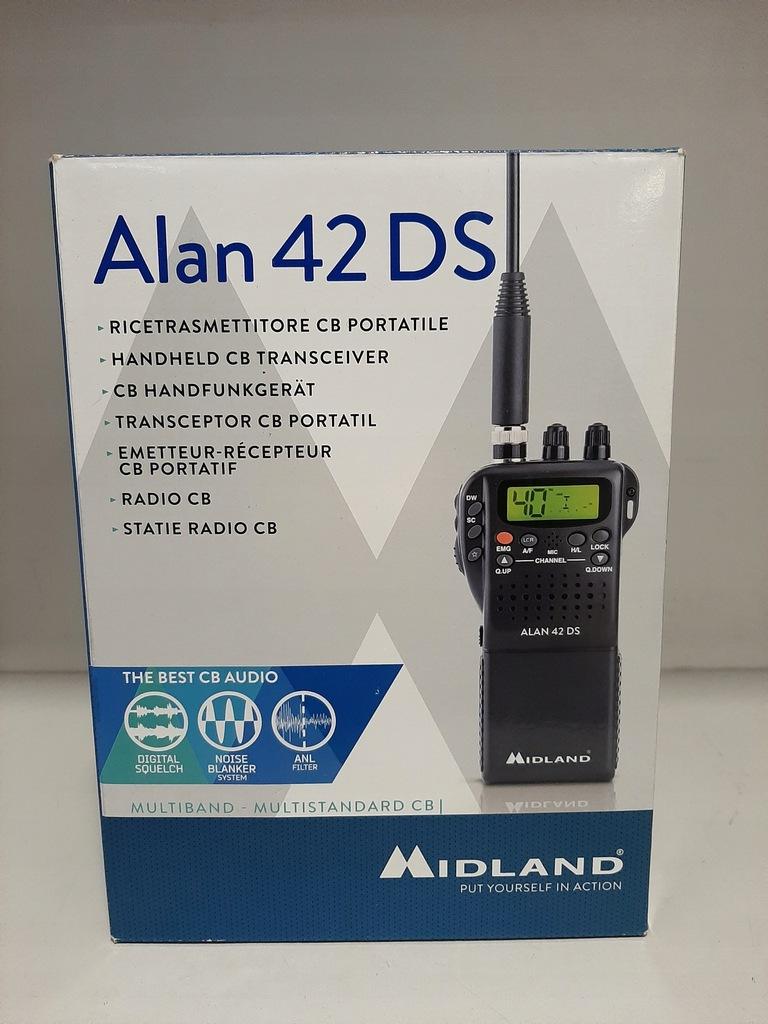 CB Radio Alan 42 DS Midland radiotelefon/GWARANCJA