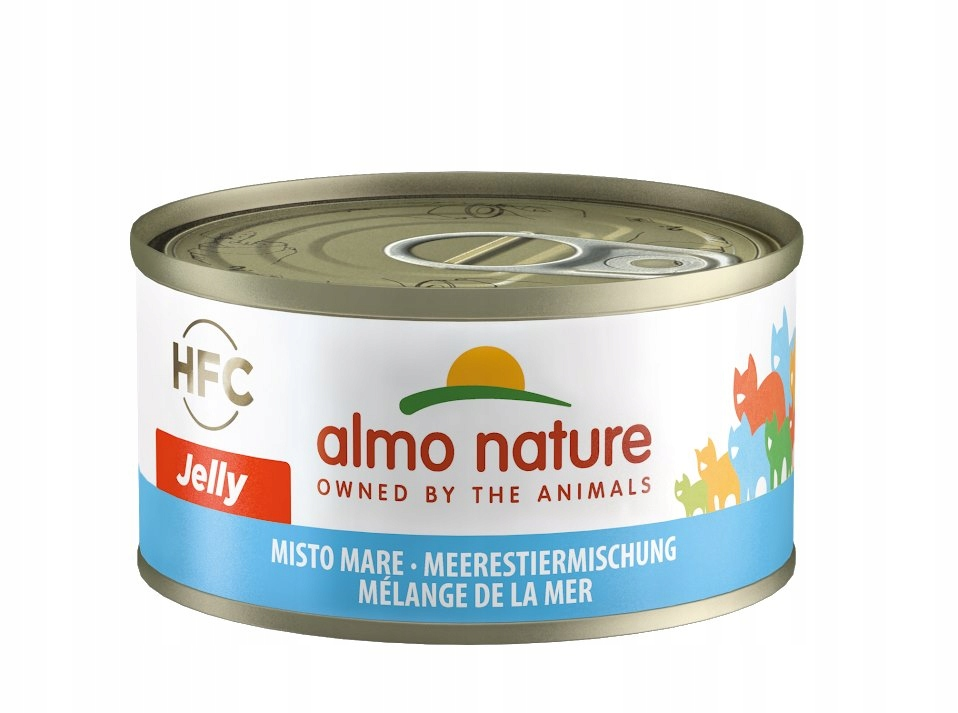 ALMO NATURE HFC Jelly - owoce morza 70 g karma
