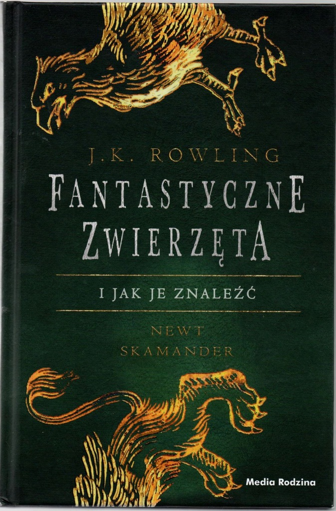 Fantastyczne Zwierzeta I Jak Je Znalezc J Rowling 8066588028 Oficjalne Archiwum Allegro