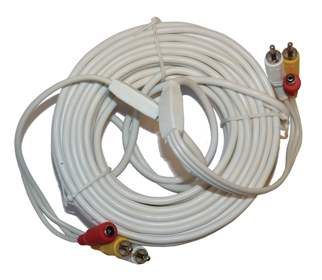 Kabel PRZEWOD kamera CCTV telewizja DOZOROWA_25m