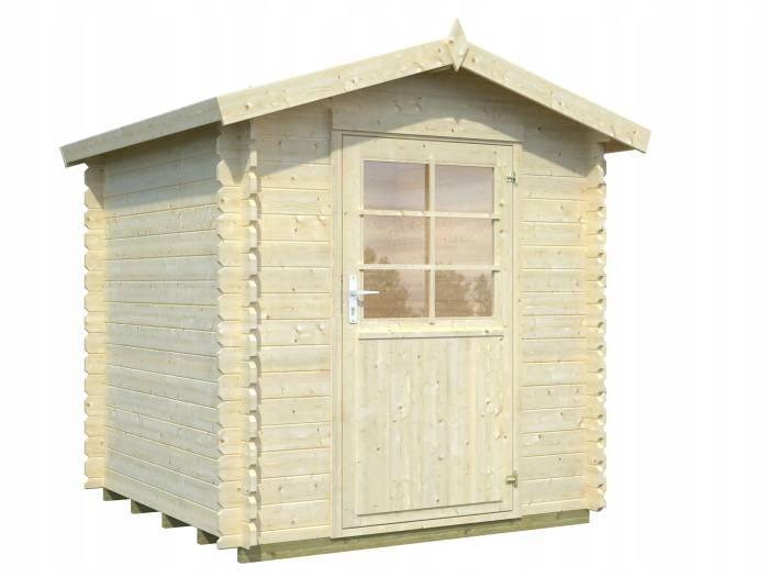 Drewniany domek narzędziowy - EKO 100 210x210