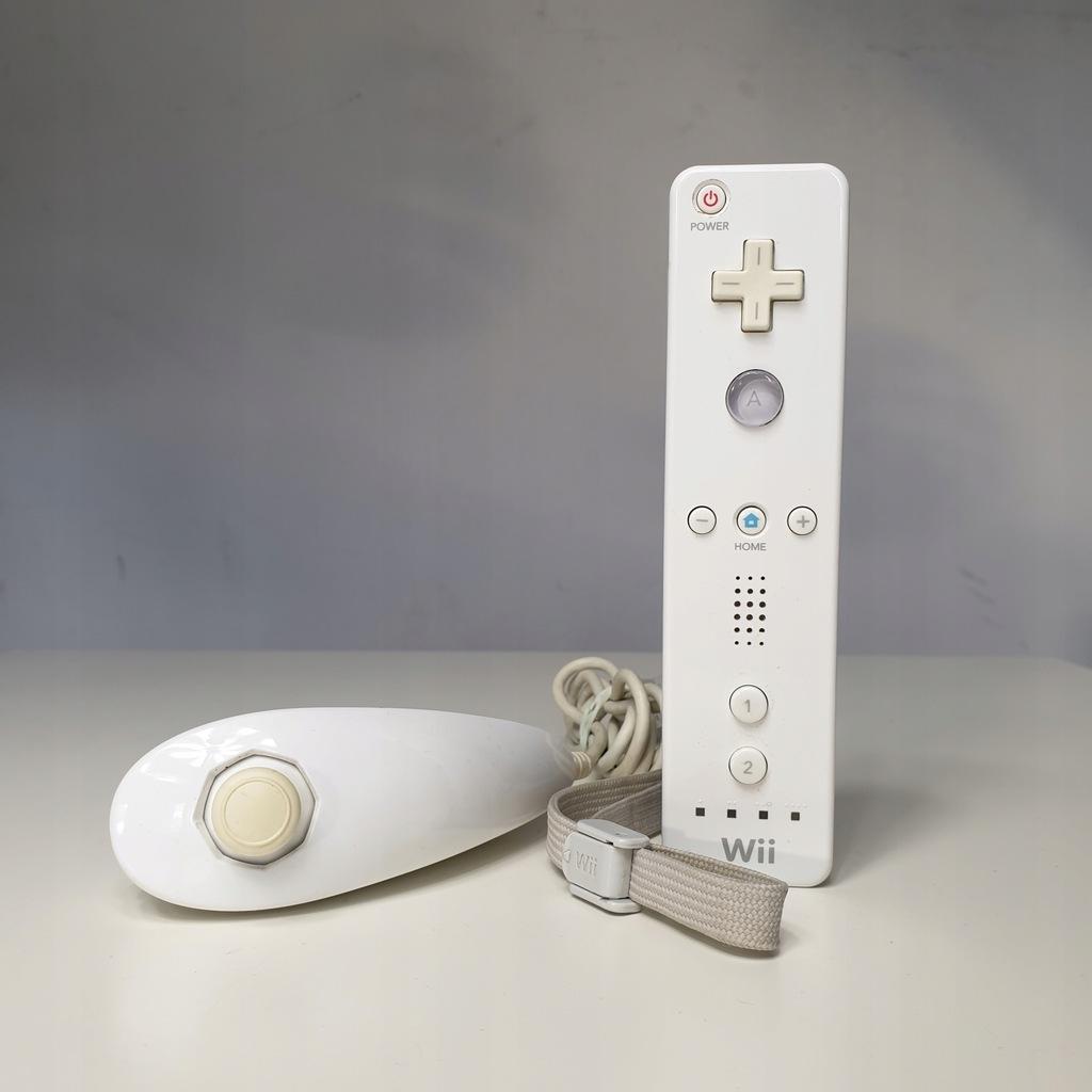 Wii Remote Controller Pad Wiilot Nunchuck 8928293757 Oficjalne Archiwum Allegro
