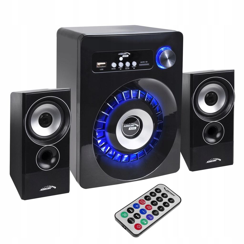 Zestaw głośników Bluetooth 2.1 Audiocore AC910 rad